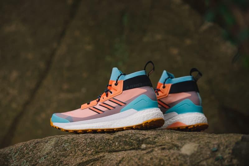近賞 DOE x adidas TERREX Free Hiker GTX 聯名鞋款