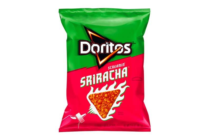 Doritos 推出全新「Screamin' Sriracha」辣椒醬口味