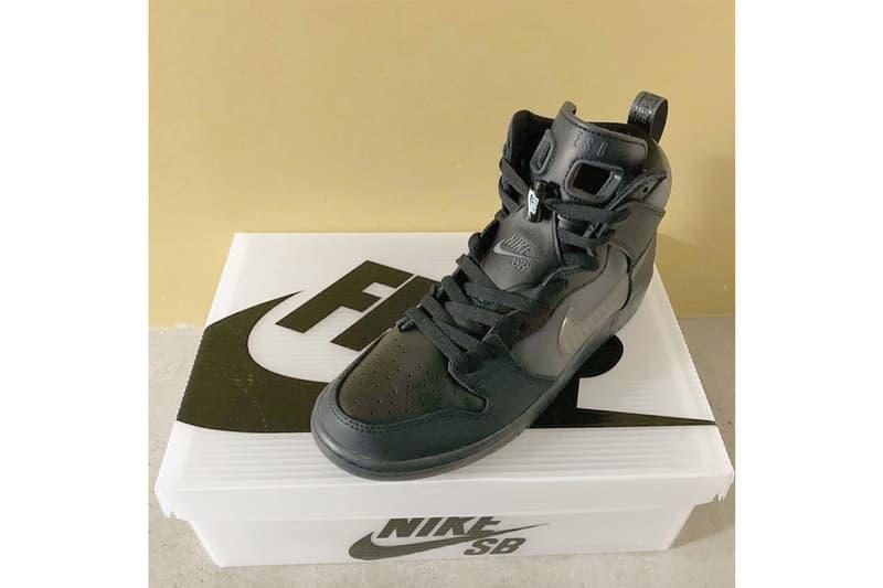 FORTY PERCENT AGAINST RIGHTS x Nike SB Dunk High 最新聯乘鞋款率先曝光