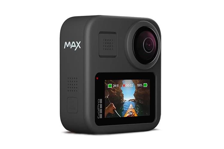 GoPro 最新 5.6K 像素雙鏡頭全景相機 Max 發佈