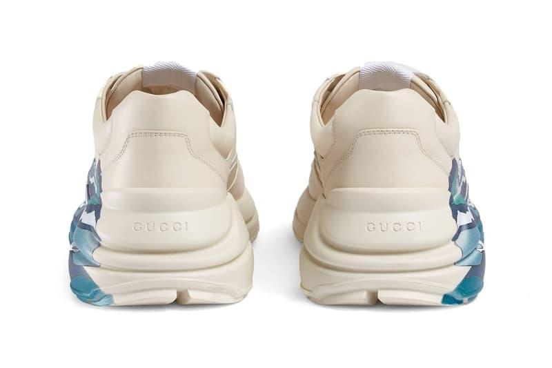 時尚踏浪-GUCCI 全新 Rhyton 運動鞋追加新樣登場