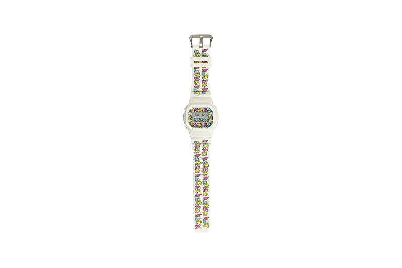 Keith Haring x G-SHOCK 別注塗鴉圖案 DW-5600 錶款