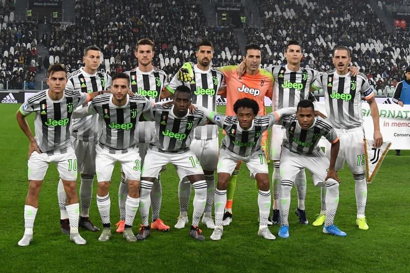 Juventus 着用 Palace x adidas 聯名球衣現身