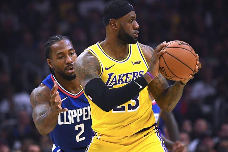洛城大戰!Kawhi Leonard 率領 Clippers 擊退 LeBron 與 AD 雙巨頭之 Lakers