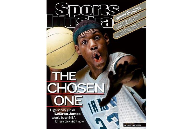 LeBron James 拍攝《Sports Illustrated》封面所著球衣賣出 $187,500 美元