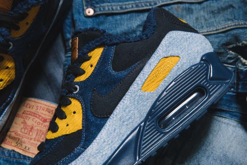 近賞 Levi's® x Air Max 90 全新聯名鞋款系列