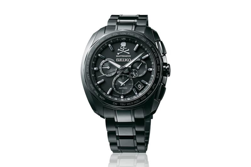 mastermind JAPAN x Seiko 全新聯乘 Astron 腕錶發佈