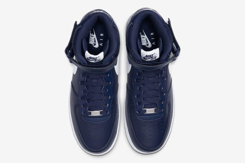 Nike Air Force 1 Mid「Dark Navy」配色將於假日季度回歸
