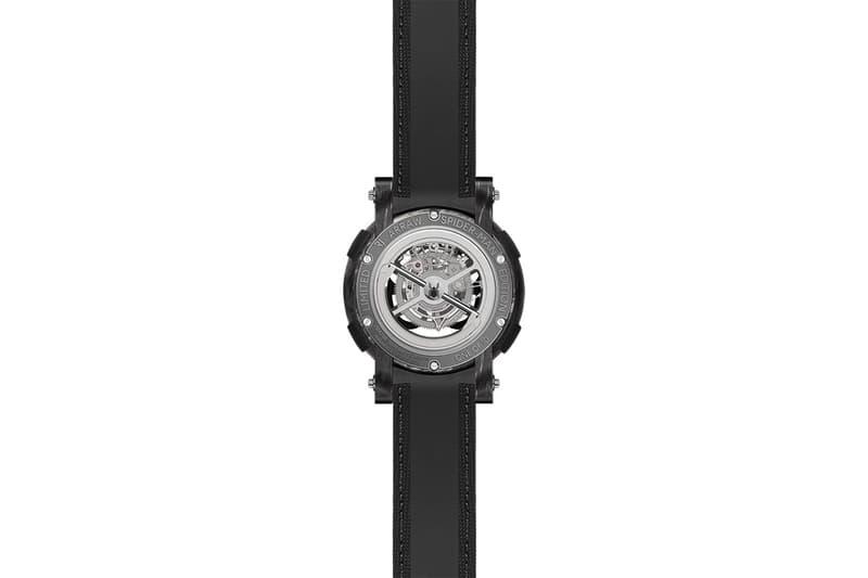 瑞士錶廠 RJ x Marvel 聯乘 Spider-Man 主題 ARRAW Tourbillion 腕錶發佈