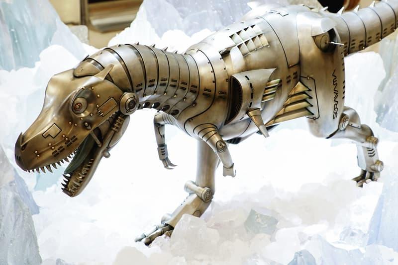 一窺空山基於《SORAYAMA Space Park by AMKK》展出之「生化暴龍」系列