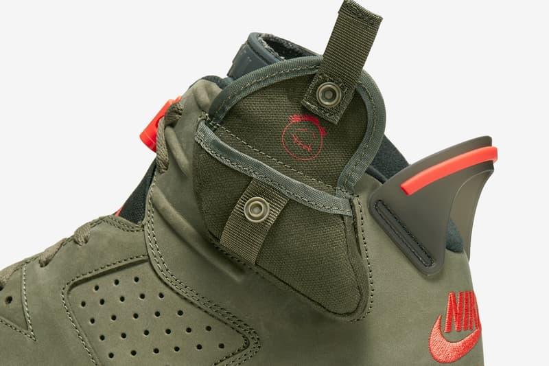 近賞 Travis Scott x Air Jordan 6「Cactus Jack」聯乘鞋款光方圖輯