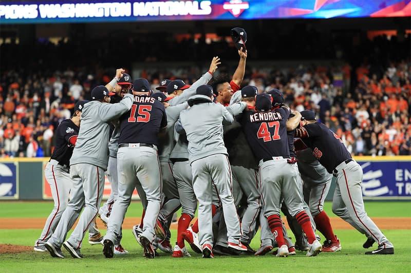 Washington Nationals 奪得隊史首座 World Series 冠軍