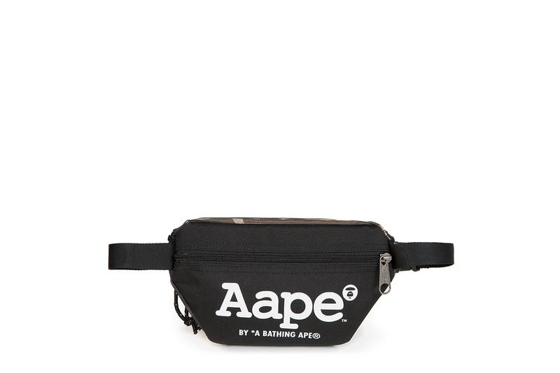 AAPE BY *A BATHING APE® x Eastpak 首个联名系列登场