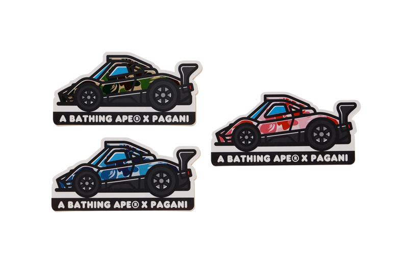 A BATHING APE® x Pagani Automobili 攜手打造 Zonda 二十周年別注系列