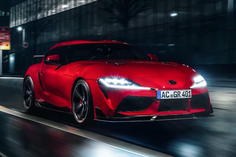 AC Schnitzer 打造 Toyota Supra 空氣力學套件強化改裝車型