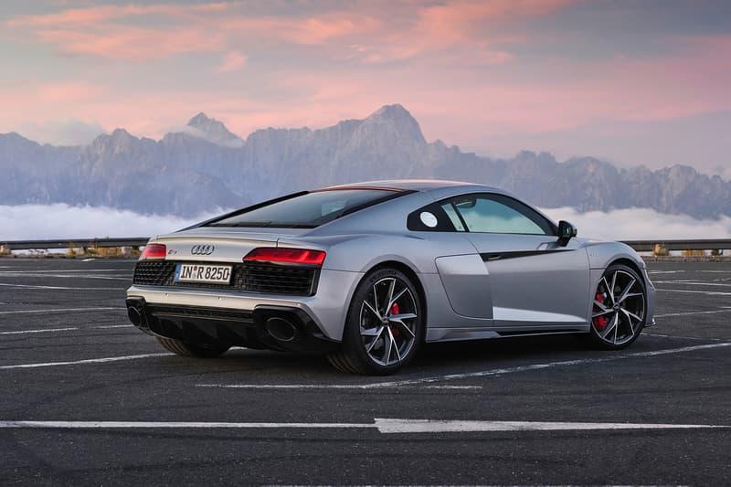 Audi 推出 2020 年式樣 R8 V10 後輪驅動標準版本