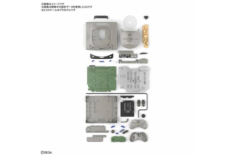 BANDAI 推出 2:5 比例 Sony 初代 PlayStation、Sega Saturn 復刻模型
