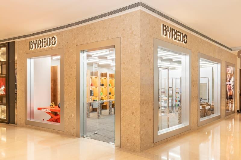 率先走进 BYREDO 中国首家精品店