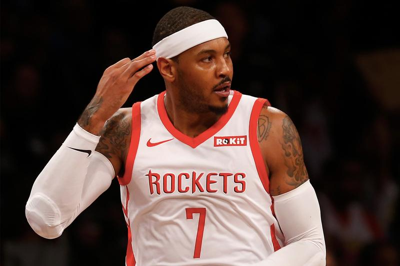 Carmelo Anthony 以非保障合約加盟 Portland Trail Blazers