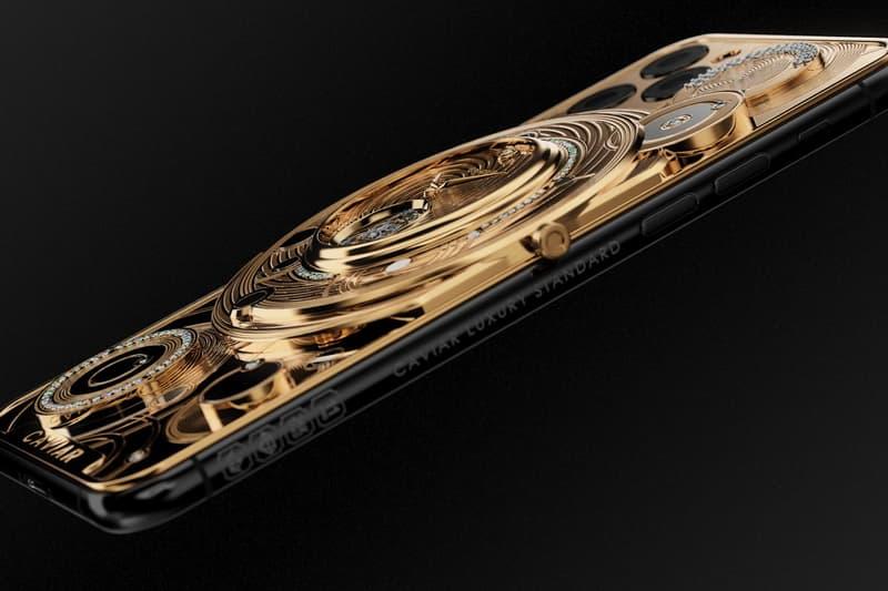 Caviar 打造要價 $70,000 美元黃金陀飛輪 iPhone 11 Pro