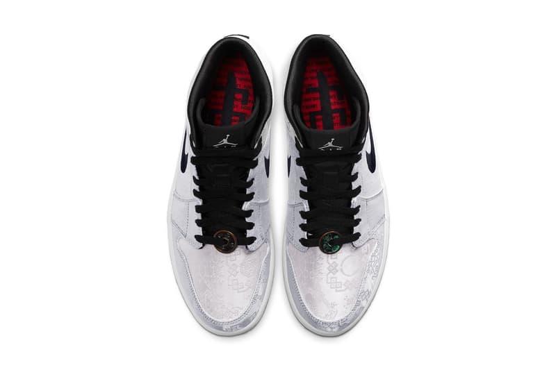 CLOT x Air Jordan 1 Mid 最新聯名配色「Fearless」官方圖輯正式發佈