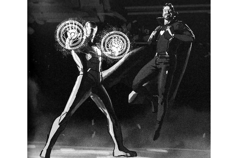 網絡流出奇異博士於《Avengers: Endgame》著用 Iron Man 鋼鐵裝畫面