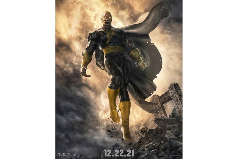 Dwayne Johnson 公開 DC 反英雄電影《Black Adam》首張概念劇照