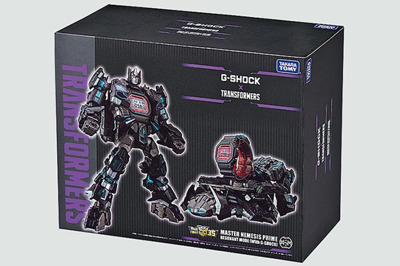 G-Shock x《Transformers》推出「暗黑柯柏文」全新別注模型錶款套裝