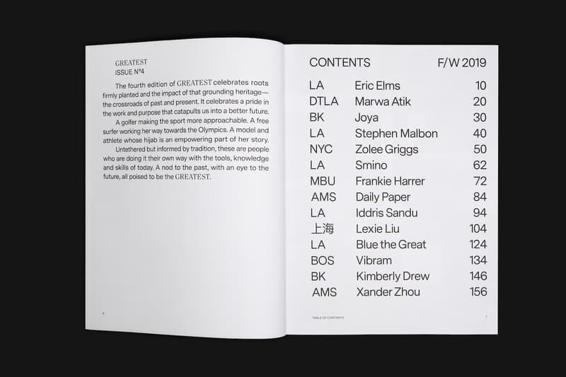 GOAT 半年刊生活杂志《Greatest》第四期正式发布