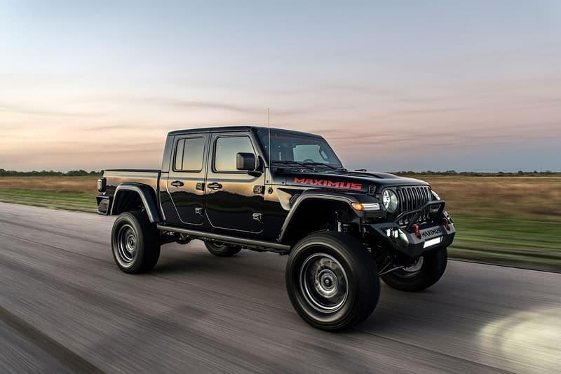 Hennessey Performance 千匹制動馬力 Jeep Gladiator 改裝車型發佈