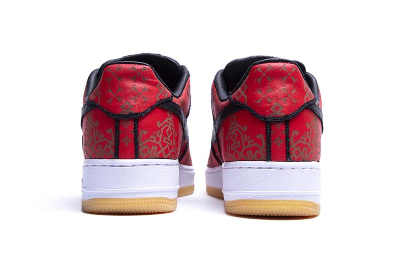 fragment design x CLOT x Nike Air Force 1 發售日期確認