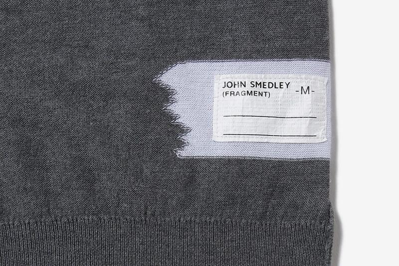 fragment design x John Smedley 聯名毛衣系列登場