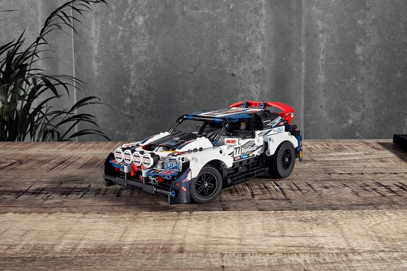 LEGO Technic 聯手 Top Gear 推出 GT 拉力遙控賽車積木模型
