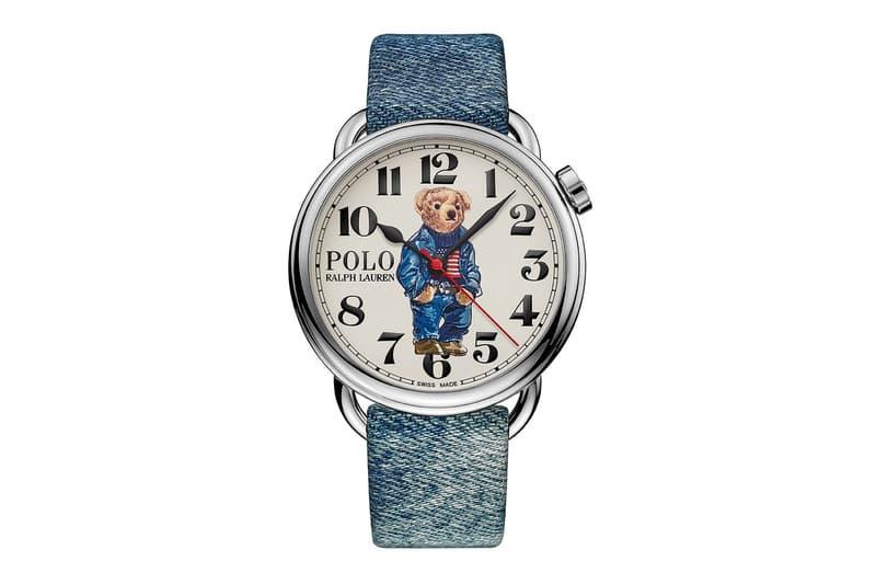 Ralph Lauren 推出三款全新 Polo Bear 瑞士製腕錶