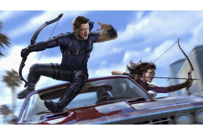 Jeremy Renner 主演 Marvel 英雄影集《鷹眼 Hawkeye》概念圖率先曝光