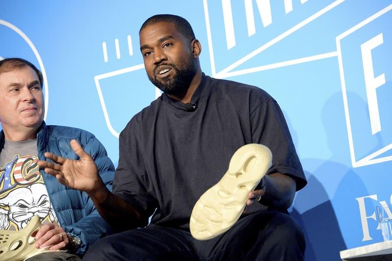 Kanye West 揭露全新 adidas YEEZY Foam Runner 是由「藻類」打造