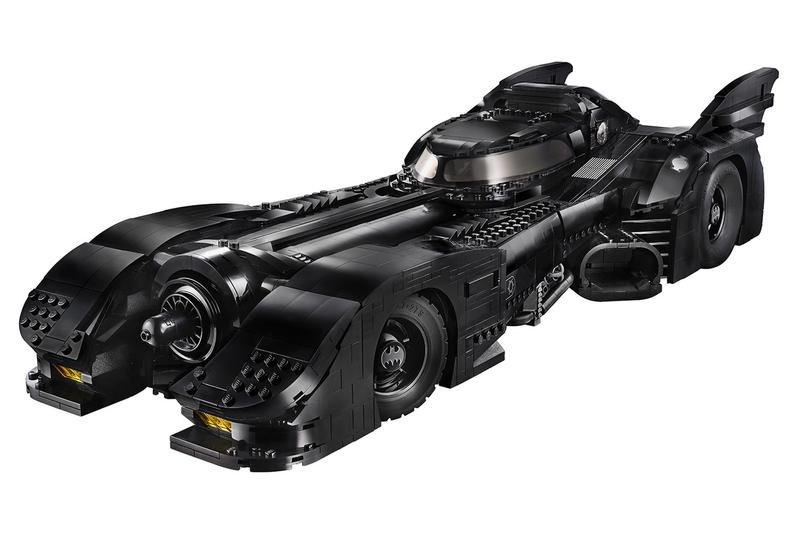 LEGO 推出長達 60 公分之 1989 年《Batman》蝙蝠車積木模型