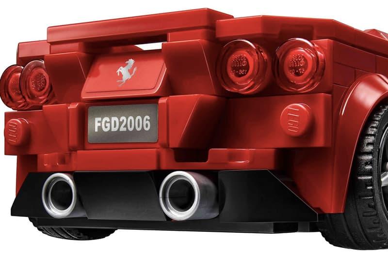 LEGO Speed Champions 推出 Ferrari F8 Tributo 超跑積木模型