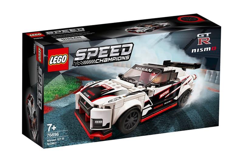 LEGO Speed Champions 推出 Nissan GT-R Nismo 積木模型