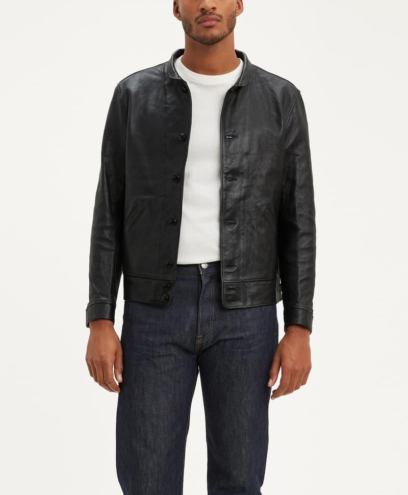 Levi's® Menlo Cossack 皮夹克黑色复刻版将限量发售