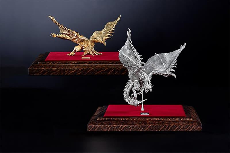 《Moster Hunter》推出要價 $81,500 美元奢華 24K 金和白金火龍模型