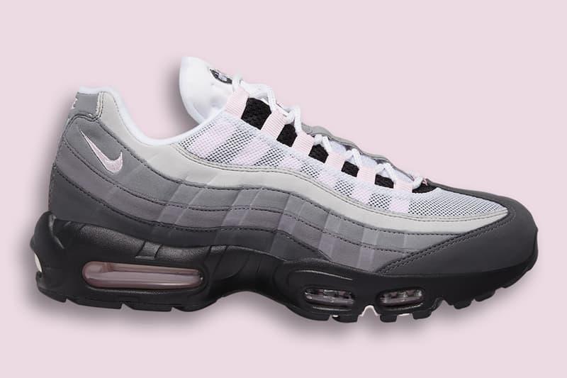 Nike Air Max 95 推出全新「Soft Pink」配色
