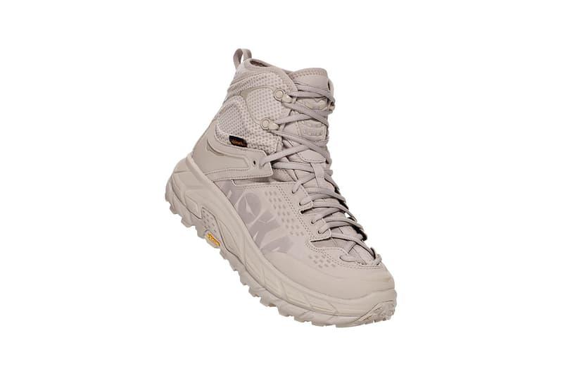 HOKA ONE ONE 再度推出兩款大地色系 TOR ULTRA HI 2 WP 鞋款