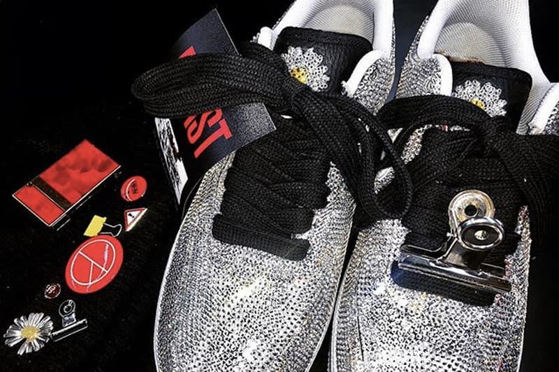 G-Dragon 亮相 PEACEMINUSONE x Nike Air Force 1「Para-Noise」水晶定製版本