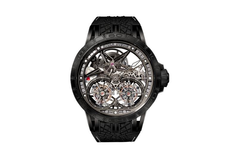 Roger Dubuis x MR PORTER 全新聯乘 Excalibur 系列腕錶發佈