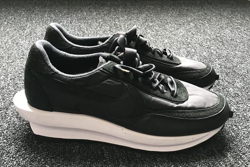sacai x Nike LDWaffle 全新神秘聯名版本率先曝光