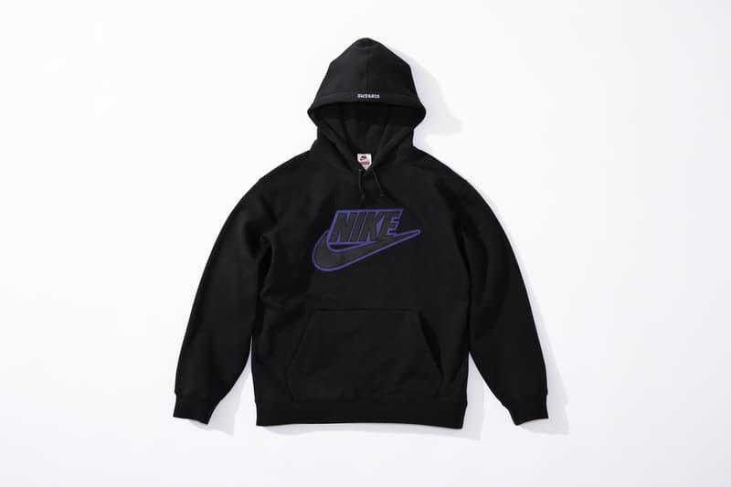 Supreme x Nike 發佈 2019 秋冬联名服饰系列