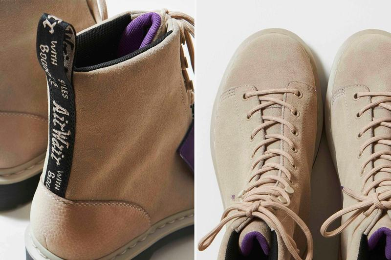 THE NORTH FACE PURPLE LABEL x Dr. Martens 全新絨面革聯乘靴款發佈