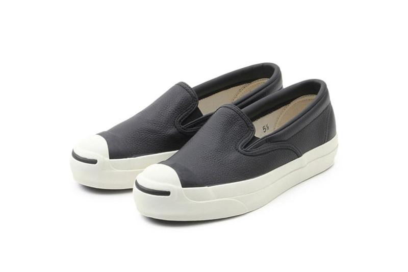 CONVERSE for BIOTOP 推出極簡全皮 Jack Purcell Slip-On