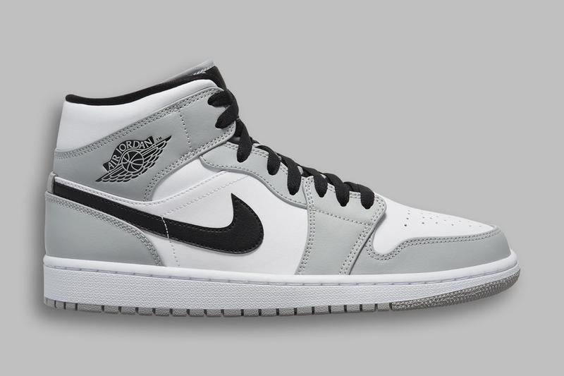 退而求其次-Jordan Brand Air Jordan 1 Mid「Light Smoke Grey」配色登場